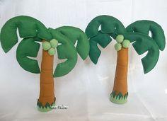 Felt Palm Trees