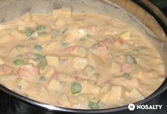 Diétás franciasaláta Kefir, Cheeseburger Chowder, Soup, Dinner, Healthy, Recipes, Dining, Food Dinners