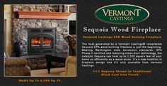 Vermont Castings Sequoia Wood Burning Fireplace Adams Stove Company, Wood Stoves In Western Mass, Pellet Stoves In Massachusetts, Wood Stoves & Pellet Stoves In The Berkshires