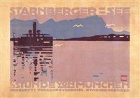 Starnberger See von Ludwig Hohlwein