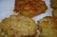 Zucchini Cakes - Little House on the Prairie Living