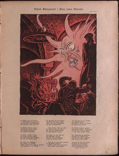 """Franz Wacik ; """"Die Muskete"""", 20 fevrier 1923."""