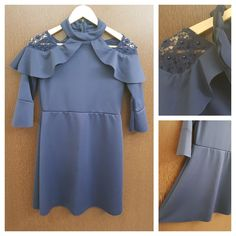 Hurry before stock runs out: Elegent - Pearls ..., visit http://ftfy.bargains/products/elegent-pearls-cut-work-navy-blue-dress?utm_campaign=social_autopilot&utm_source=pin&utm_medium=pin  #amazing #affordable #fashion #stylish