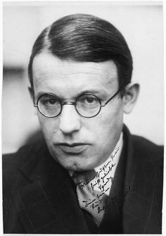 rudolf schlichter | Rudolf Schlichter um 1922 Foto von © Deutsches Literaturarchiv ...