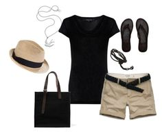 """outfit29"" by inspireer ❤ liked on Polyvore featuring Abercrombie & Fitch, Meadowlark, Madewell, Love Rocks and Hermès"