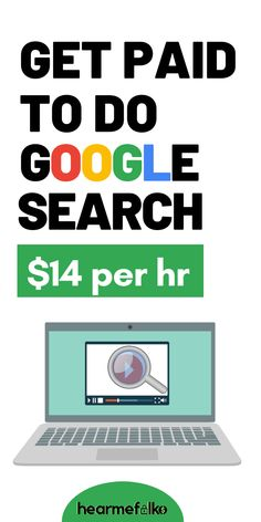 Work from Home and get paid to search: Did you ever think that you can actually earn money while searching on Google? You can get paid $14/hour and upto $14/hr working at companies I'll share here. Ready to work as a search engine evaluator and make money from home, jump right in, Or SAVE FOR LATER! #workforGoogle #makemoneyfromhome #onlinejobs #careeradvice #workfromhomejobs #stayathomejobs #raterjobs #parttimejobs #hearmefolks #getpaidtosearch Ways To Earn Money, Earn Money From Home, Earn Money Online, Way To Make Money, Hobbies That Make Money, Earning Money, Online Income, How To Make, Work From Home Companies