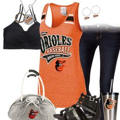 Baltimore Orioles Tank Top Outfit