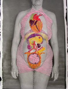 Sewing onto Photographs PHOTO EMBROIDERY – Alternative Photography Individualized Course 2015 Hand Work Embroidery, Embroidery Art, Art Alevel, Graffiti, Alternative Photography, Thread Painting, Figure Painting, Anatomy Art, Human Anatomy