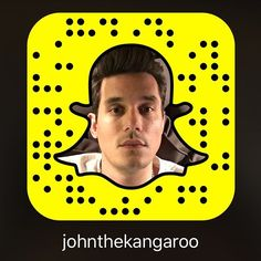 Pin for Later: 71 Promis, die auf Snapchat alles zeigen John Mayer Username: johnthekangaroo