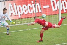 Peinliche 1:5-Heimklatsche gegen Halleschen FC : Arminia macht das Tore schießen leicht
