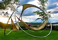 Gone are the days when you have to race to relax in a hammock. Trinity Hammocks make it so you and your best pals get the rest you deserve. Outdoor Hammock, Hanging Hammock, Hammock Swing, Hammock Chair, Garden Furniture, Outdoor Furniture, Outdoor Decor, Hammocks For Sale, Best Camping Hammock