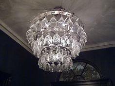 Champagne Glass Chandelier