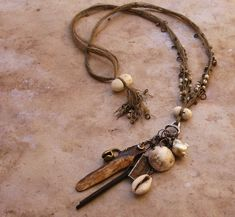 Amulet necklace by Desert Talismans
