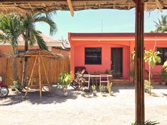 Our studio rooms in Bantayan Island with private bathroom and air-condition - perfect for couples and solo travelers. Bantayan Island, Studio Room, Travel Tours, Santa Fe, Philippines, Entrance, Patio, Studios, Outdoor Decor