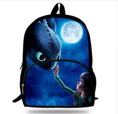 5329ea9d1bef 16-Inch 2017 Popular Children School Bag Kids Printing Cartoon Backpack  Hero Superman Characters Ninjago Bag For Kids Boys Girls