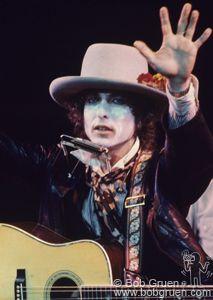 Bob Dylan. Photo by Bob Gruen