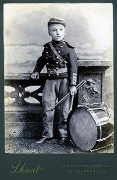 +~+~ Antique Photograph ~+~+ Drummer Boy It surprises me how many children fought in the civil war.