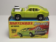 MATCHBOX SUPERFAST ROLA MATICS HOT ROCKER #67 FORD CAPRI LESNAY #Matchbox #Ford