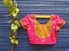 Designer blouse from mantra designer studio.01 February 2017