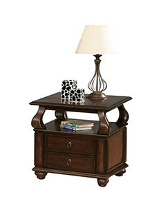 ACME Furniture 80012 Amado End Table Walnut ** You can get more details by clicking on the image.Note:It is affiliate link to Amazon.
