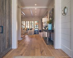 Wide Plank Rift & Quartered White Oak Flooring In Nashville Tennessee. Wood plank flooring, Oak hardwood flooring and many other options available here Wood Laminate Flooring, Engineered Wood Floors, Hardwood Floors, Wide Plank Wood Flooring, Flooring Ideas, White Oak Floors, Planking, House Design, Nashville Tennessee