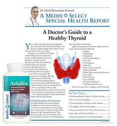 Actalin Special Report by Dr. David Brownstein