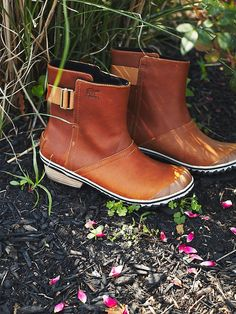 Free People Slimboot Pull-On Weather Boots, $130.00