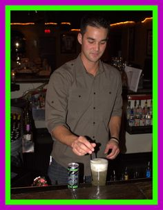 Steven at Frasher's knows how to pour a tall, cool THC.