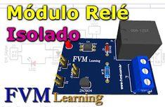 Simples módulo Relê, que poderá ser ativado através de um dispositivo de controle digital, como ESP8266, ESP32, NodeMCU, Wemos, Arduino, PICs, e etc, tudo isso de forma bastante simplificada, e com o custo realmente baixo. Learn C, Arduino, Custo, Led, Digital, Internet, Printed Circuit Board, Printed Circuit Board, Electric Shock