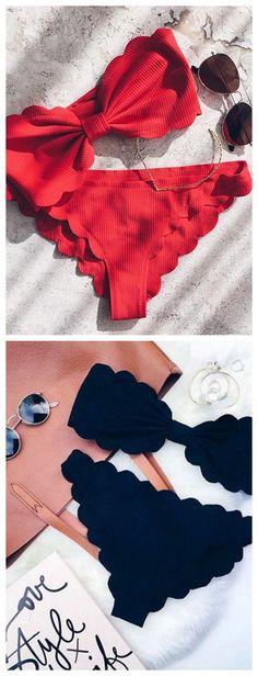 Red or Black? Whatever, this style is really fashion now! Get them at Stayingsummer.com!!!