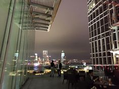 View from IFC rooftop Feb 2016