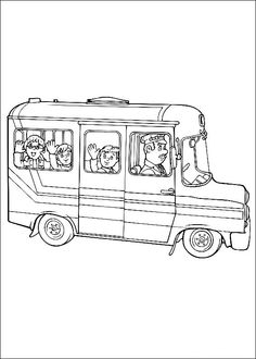 Fireman Sam Coloring Pages 12