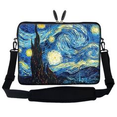 Meffort Inc® 15 15.6 Inch Neoprene Laptop Sleeve Bag Carrying Case with Hidden Handle and Adjustable Shoulder Strap - The Starring Night, http://www.amazon.com/dp/B00IXWWD0C/ref=cm_sw_r_pi_awdm_A38Eub0RE3Y5W