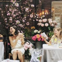 My mother threw me the most insanely beautiful wedding shower at Palma NYC. 🎉 If you can't tell, I was overjoyed! 😊 I'm now only 1 month out from my big day! 📆 After 6 years of helping brides find their accesories for less, it's finally my turn to keep calm & borrow on! 🎈I can't wait to share more wedding details with all of you all this month. July 2nd can't come soon enough!