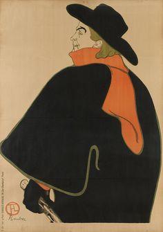 Henri de Toulouse-Lautrec - Aristide Bruant, dans son Cabaret [1893]