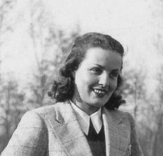 Alda Frascarolo, moglie di Alberto Bianco. Partigiana combattente a Paraloup