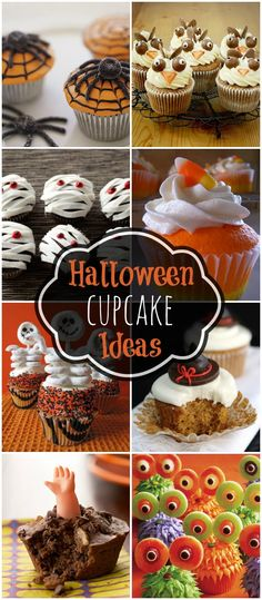 Cat and Moon Cupcakes Day- Halloween Pinterest Halloween foods - halloween cupcake decor