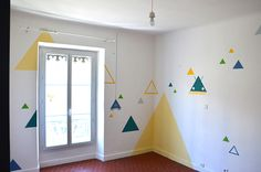 Wall painting for children room.
