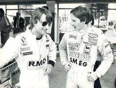 Renè Arnoux e Gilles Villeneuve