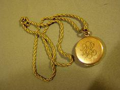 vintage locket...mine now