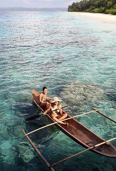 Mentawai Island, West Sumatra, Indonesia