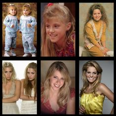 Then and Now: Full House. Aw! They're all so old!