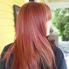 Great Fall color last week and Formaldehyde-free Keratin Treatment today by Britt L #salonKG #VintageMeetsModern