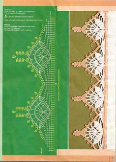 crochet edging with diagram @Af's 28/3/13