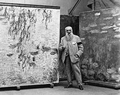 Claude Monet. These large paintings are housed in a museum in Paris and are truly something you can stare at for hours and find some subtle combination of colors that enlighten your heart.