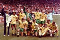 1985 League Cup Winners The Canaries