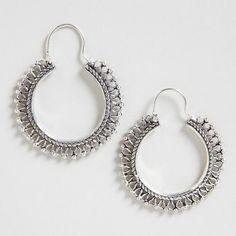 One Of My Favorite Discoveries At Worldmarket Silver Indian Hoop Earrings