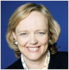 The Billionaire Runner-Up! Meg Whitman, Hewlett Packard CEO and failed 2010 GOP Gubernatorial candidate. Vote for her for Ms. 1% California! (From TheCalOnePercent.com site.)