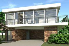 Modern Floor Plans, Modern Farmhouse Plans, Carriage House Plans, Cottage Plan, Garage Apartments, House Stairs, Best House Plans, Build Your Dream Home, Architecture