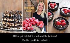 enkel rabatt Jeg har klart f svigermor til rpe opp - rabatt Norwegian Food, Norwegian Recipes, Pastry Cake, Raspberry, Projects To Try, Food And Drink, Baking, Fruit, Oreos